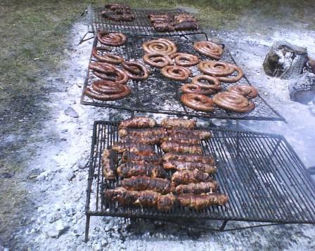 Fiesta del salchichón 2010 Parador tajes